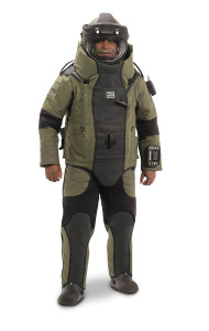 "Med-Eng recently unveiled what it describes as the ""most advanced and protective bomb suit in the history of public safety bomb disposal and military explosive ordnance disposal."""